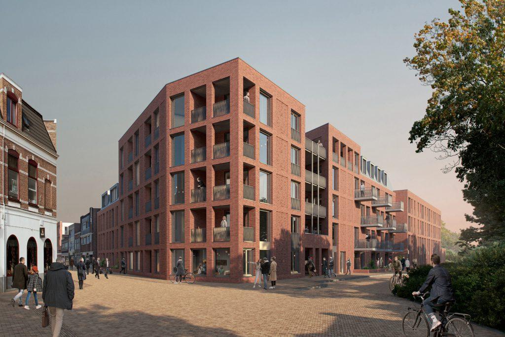 Nieuwbouwappartement op de hoek van de Waterstraat en Havenstraat