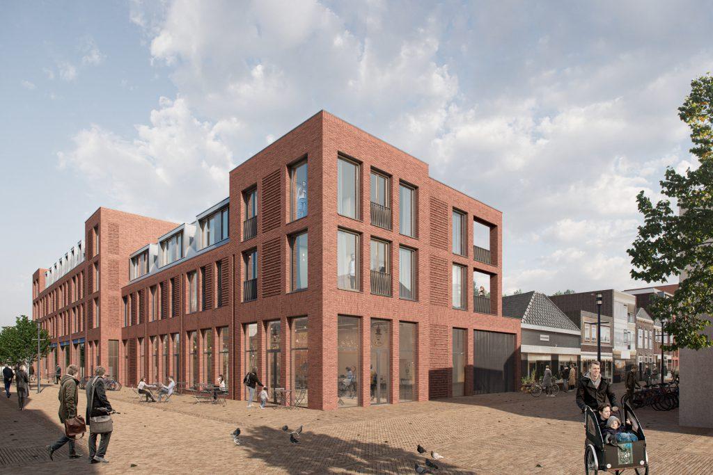 Nieuwbouwappartement op de hoek van de Willemstraat en Waterstraat
